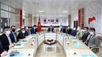 Erzincan'da İl Güvenlik Ve Asayiş Koordinasyon Toplantısı İle Kaymakamlar Toplantısı Düzenlendi