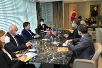 İYİ Parti Genel Başkanı Akşener, ABD Büyükelçisi Satterfield İle Görüştü