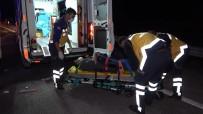 Kırıkkale'de Kamyon İle Kamyonet Çarpıştı Açıklaması 1 Ölü, 4 Yaralı