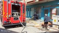 Market Deposunda Çıkan Yangın Korkuttu