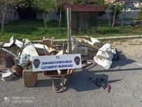 Samandağ'da Hırsızlık Şüphelisi Kişi Gözaltına Alındı