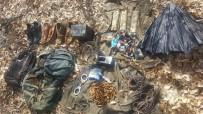 Tunceli'de 1 Sığınak İmha Edildi Çok Sayıda Malzeme Ele Geçirildi