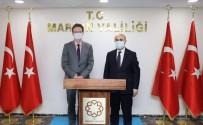 AB Türkiye Delegasyonu Başkanı Meyer-Landrut, Mardin Valisi Demirtaş İle Bir Araya Geldi