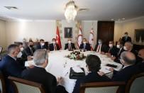Bakan Çavuşoğlu, KKTC'de Siyasi Parti Liderleri İle Görüştü