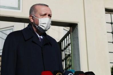 Başkan Erdoğan'dan cuma namazı sonrası açıklama