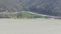 Derbent Baraj Gölü Kenarında Ruhsatsız Karavanlar Mühürlendi