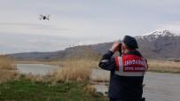 Drone'li Denetimlerin İlk Gününde 3 Ton İnci Kefali Kurtarıldı