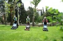 Kahramanmaraş'ta Park Ve Bahçeler Yaza Hazırlanıyor