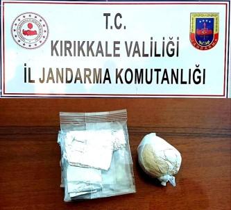 Kırıkkale'de 40 Gram Eroin Ele Geçirildi