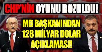 Merkez Bankası Başkanından 128 milyar dolar açıklaması!