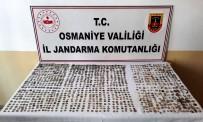 Osmaniye'de Yüzlerce Tarihi Obje İle Sikke Ele Geçirildi