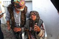 (Özel) Yaşlı Çift Yanan Evlerini Gözyaşları İçinde İzledi