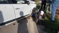 Pat Pat İle Otomobil Çarpıştı Açıklaması 1 Yaralı