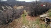 Tunceli'de Eren-7 Mercan Munzur Operasyonu'nda Teröristlerce Kullanılan 4 Mağara İmha Edildi