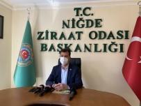 Ziraat Odası Başkanı Kenar, Cumhurbaşkanı Erdoğan'a Teşekkür Etti
