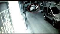 Acemi Hırsızların 20 Dakikalık Uğraşı Güvenlik Kameralarına Yansıdı