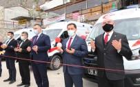 Amasya'da 4 Yeni Ambulans Dualarla Hizmete Girdi