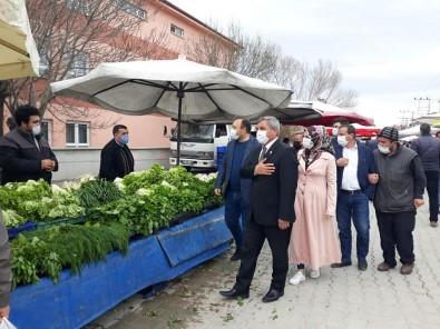 Başkan Arif Teke Açıklaması ''Halk Pazarımız İlçe Ekonomimiz İçin Çok Önemli''