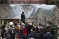 Başkan Taşdelen Açıklaması 'Burada Hiçbir Şekilde Binalarda Kayma Yok, Temellerinde Oynama Yok'