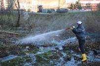 Bitlis'te İlaçlama Çalışmaları Devam Ediyor