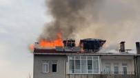 İftara Dakikalar Kala Büyük Yangın Açıklaması Apartman Tahliye Edildi