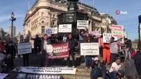 İngiltere'de Wikileaks'in Kurucusu Assange İçin Gösteri Düzenlendi