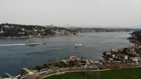 İstanbul Boğazı'ndan Geçiş Yapan Rus Savaş Gemileri Havadan Görüntülendi
