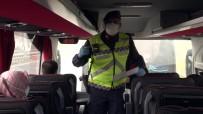 İstanbul İl Jandarma Ekiplerinden Yolcu Otobüslerine Korona Virüs Denetimi