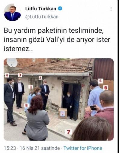 İyi Partili Türkkan iktidarı eleştireyim derken ittifakı hedef aldı!