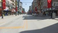 Malatya'da Hafta Sonu Sokaklar Boş Kaldı