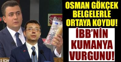 Osman Gökçek belgelerle anlattı: İBB'de büyük kumanya vurgunu!