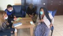 (Özel) Isparta'da Dilenen Yaşlı Kadın Zabıtadan Da Para İstedi