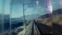 Pozantı'daki Tren Kazasının Güvenlik Kamerası Görüntüleri Ortaya Çıktı