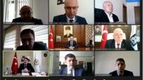 Vali Epcim, KUDAKA 134. Yönetim Kurulu Toplantısına VKS Üzerinden Katıldı