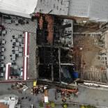 Yanan Antika Dükkanındaki Zarar Gündüz Ortaya Çıktı