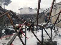 Batman'da Tekstil Fabrikasında Korkutan Yangın