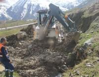 Hakkari'de 3 Bin 500 Rakımdaki Su Arızası Giderildi