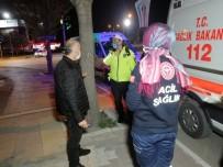 Karantinadaki Sürücü Servis Şoförlüğü Yaparken Yakalandı