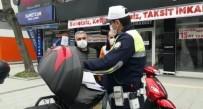Motosikleti İle İzinsiz Sokağa Çıktı, 5 Ayrı Ceza Yedi