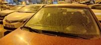 (ÖZEL) İstanbul'da Çamur Yağışı Etkili Oldu
