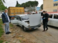 Çalınan Otomobil Sahte Plaka Takılı Halde Bulundu