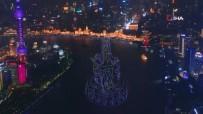 Çin'de Bin 500'E Yakın Drone İzleyenlere Görsel Şölen Yaşattı