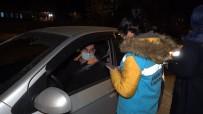 Kırıkkale'de Gece Yarısı HES Kodu Denetimi Açıklaması Araçlar Tek Tek Durduruldu
