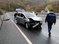 Kozlu'da Trafik Kazası Açıklaması2 Yaralı