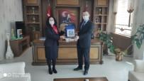 Müdire Acaroğlu'ndan Kaymakam Demirer'e Ziyaret