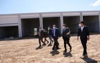 Sandıklı'da Yeni Hal Binası İnşaatı Devam Ediyor