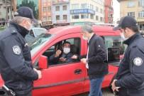 Tosya'da Şehir İçi Ve D-100 Karayolu'nda Hafta Sonu Denetimi