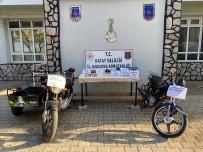 Hatay'da Uyuşturucu Ve Çalıntı Motosiklet Operasyonu
