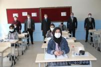 Kaymakam Demirer'den Sınavlara Hazırlanan Öğrencilere Ziyaret