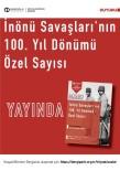 Millî Mücadele'nin Eşsiz Zaferlerinin 100. Yıl Dönümüne Özel Sayı Yayımlandı
